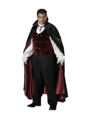 Plus Size Gothic Vampire Costume for Adult