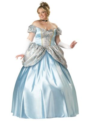 Plus Size Elite Enchanting Princess Costume for Adult