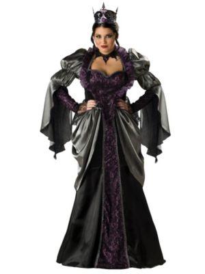 Womens Elite Plus Size Wicked Queen Costume