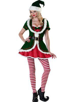 Holiday Honey Elf Women's Costume