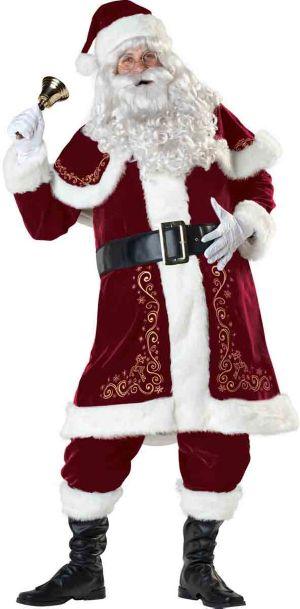 Adult Jolly Ol' St. Nick Santa Suit