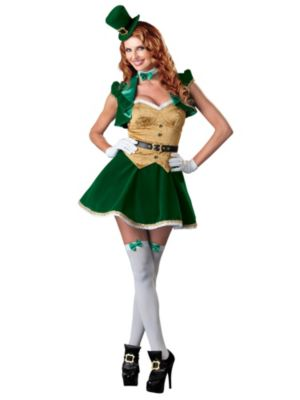 Adult Lucky Lass Costume