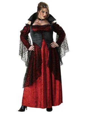 Vampiress Plus Size Costume for Women