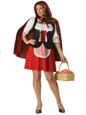 Plus Size Elite Red Riding Hood Costume for Adult