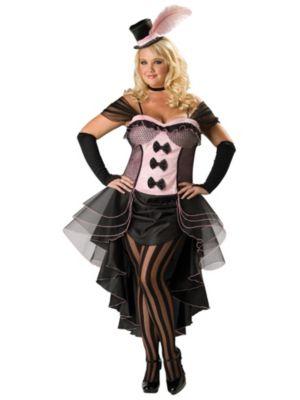Burlesque Babe Sexy Adult Premier Plus Costume