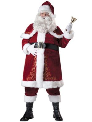 Adult Plus Size Jolly Ole St. Nick Costume