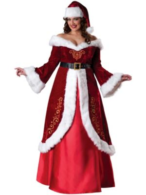 Adult Plus Size Mrs. St. Nick Costume