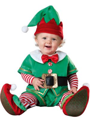 Toddler Santa's Lil Elf Infant Costume