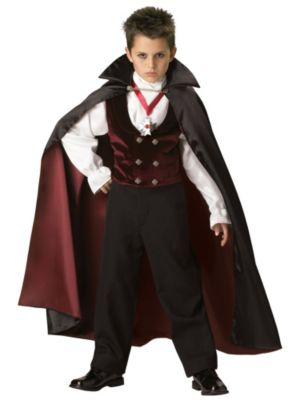 Elite Gothic Vampire Costume for Child