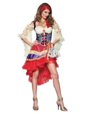 Elite Adult Sexy Good Fortune Teller Gypsy Costume