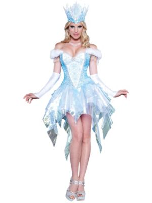 Sexy Adult Sexy Snow Queen Costume