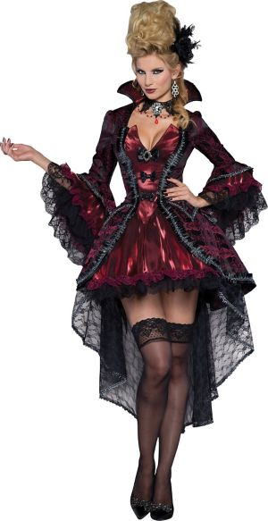 Sexy Adult Victorian Vamp Costume