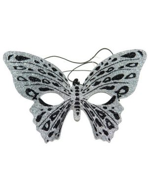 Silver Butterfly Party Mask