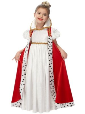 Child Enchanted Court Empress Costume