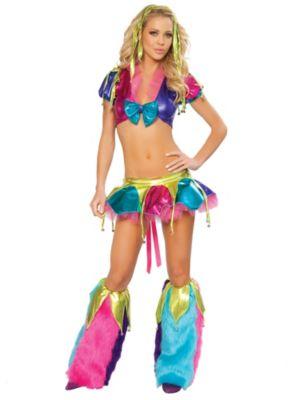 Sexy Mardi Gras Jester Adult Costume
