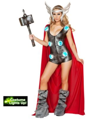 Sexy Adult Asgardian Queen Costume