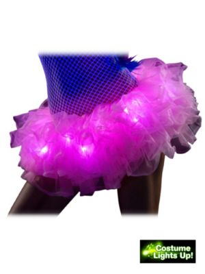 Women's Pink Light Up Tutu