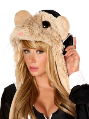 Women's Sexy Hamster Hood
