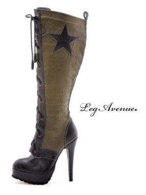 Sexy Adult Militia Boot