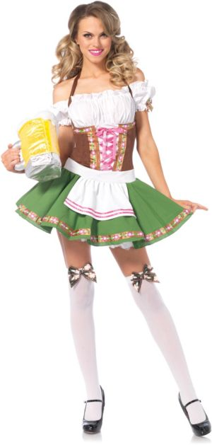 Adult Beer Girl Bavarian Maiden Costume
