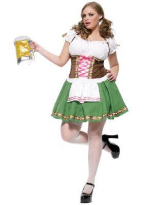 Maiden Gretchen Womens Plus Bavarian Costume