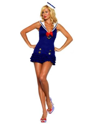 Sexy Sweetheart Sailor Womens Costume