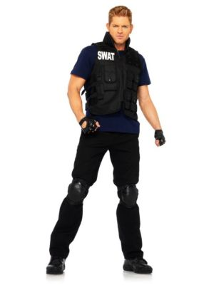 Adultswat Commander Costume