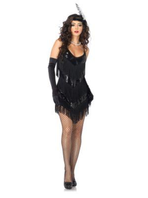 Adult Sexy Roaring 20s Honey Flapper Costume