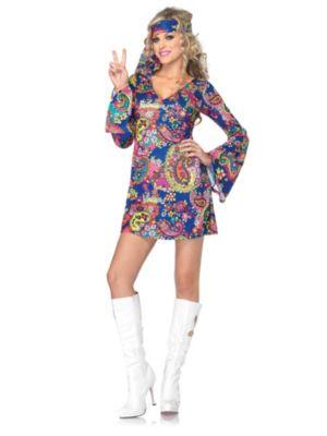 Adult Sexy Harmony Hippie Costume