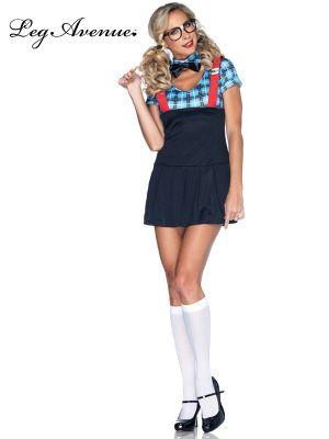 Sexy Women's Naughty Nerd Schoolgirl Costume