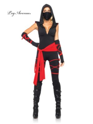 Sexy Adult Deadly Ninja Costume