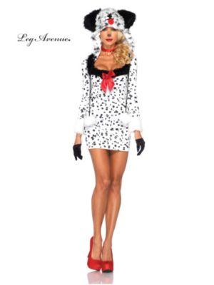 Sexy Adult Dotty Dalmatian Costume