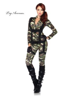 Sexy Adult Pretty Paratrooper Costume