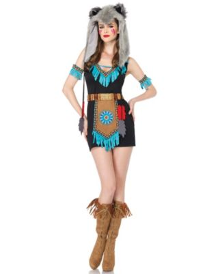 Sexy Wolf Warrior Adult Costume