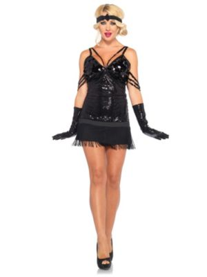 Sexy Glam Flapper Adult Costume