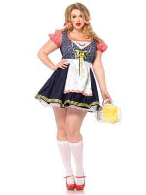 Sexy Oktoberfest Inga Beer Girl Adult Plus Size Costume