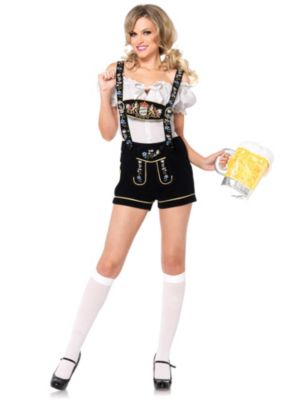 Sexy Edelweiss Lederhosen Beer Girl Adult Costume
