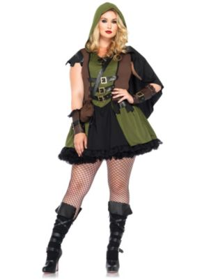 Sexy Darling Robin Hood Adult Plus Size Costume