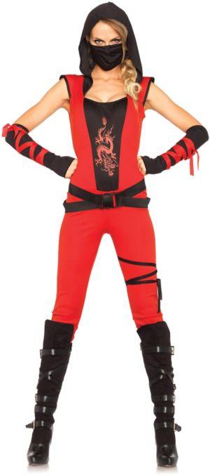 Sexy Adult Ninja Assassin Costume