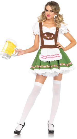 Sexy Adult Beer Garden Darling Costume