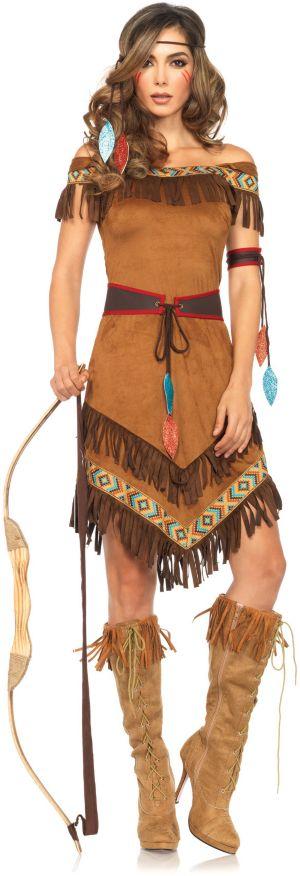Sexy Adult Native Princess Costume