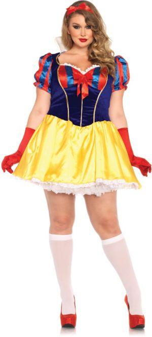 Sexy Adult Poison Apple Princess Plus Costume