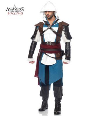 Adult Assassins Creed IV Black Flag Edward Costume