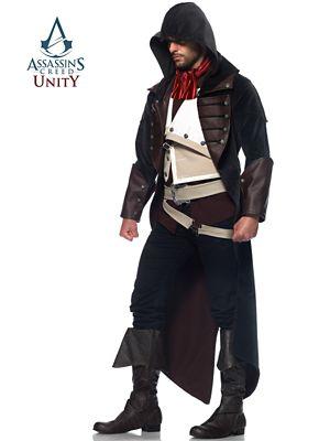 Adult Assassins Creed Unity Arno Dorian Costume