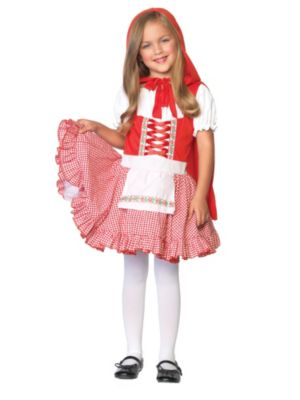 Child Lil Miss Red Riding Hood Costume