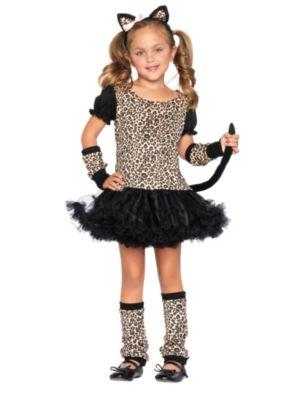 Anime Costumes Girls Girls Little Leopard Costume