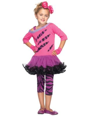 Rockstar Child Small Costume