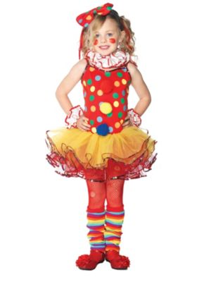 Girls Circus Clown Child