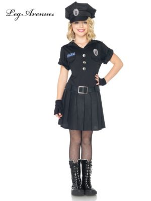 3 Piece Playtime Police Child Costume