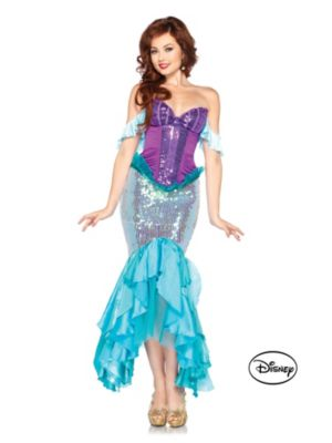 Adult Deluxe The Little Mermaid Princess Ariel Disney Costume